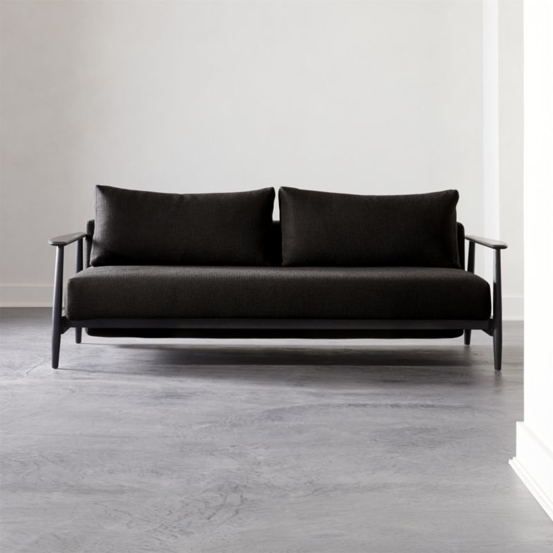 Una Black Sleeper Sofa