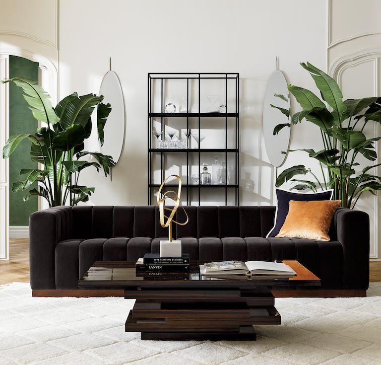 Forte Sofa Living Room Tours