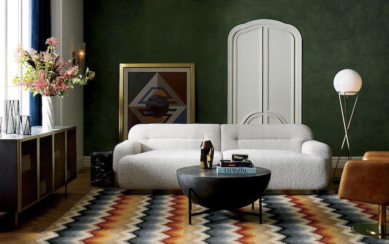 Logan Sofa Living Room Tours