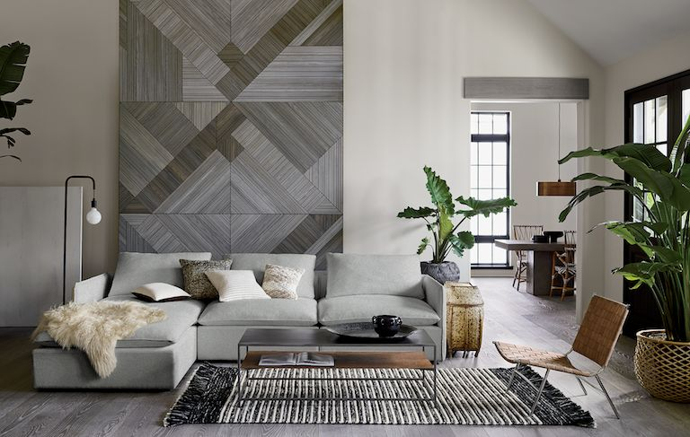 lumin sofa living room tours & Modern Living Room Ideas | CB2