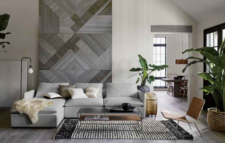 modern living room ideas cb2