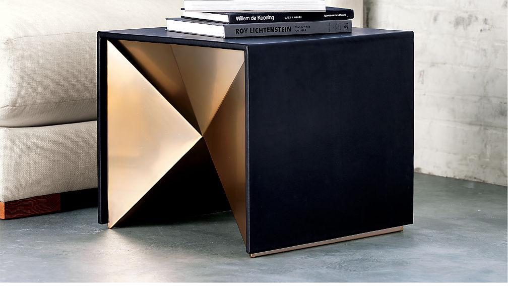 novasidetableacoc15 - Leather Side Tables