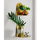 View product image portal brushed gold shelf - image 2 of 8