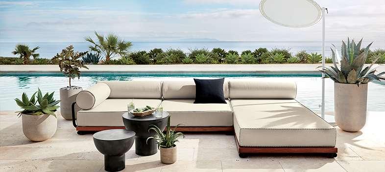 Unique Outdoor Furniture And Decor Cb2