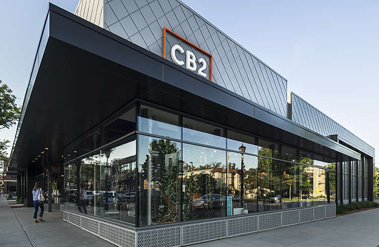 Exterior View Of Crate And Barrel Location, Uptown