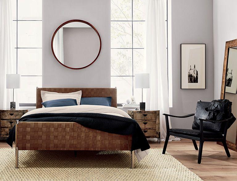 Woven Bedroom Room Tours